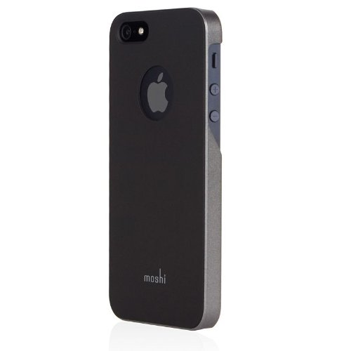 premium selection 5cd1f 6fa46 moshi - iGlaze - Case for iPhone 5/5s/SE - Graphite Black