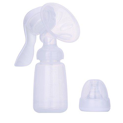 Per Einstellbar Komfort Milchpumpe, Handmilchpumpe zum Stillen - manuelle Bedienung, für das Stillen Baby
