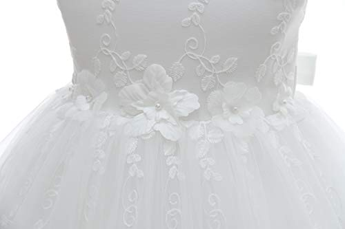 ba6b87b9d Silver Mermaid Baby Girl Christening Dress 2 Piece Floral Lace Christening  Gown Baptism Dress Set(