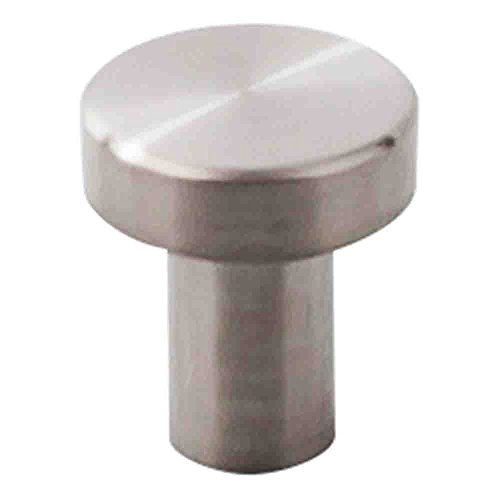 Steel Finish Top (Round Knob Finish: Brushed Stainless Steel)