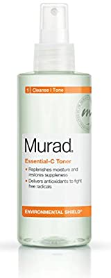 Murad Environmental Shield Essential-C Toner, 1: Clean/Tone, Packaging May Vary, 6 fl oz (180 ml)