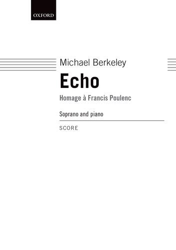 Echo: Homage a Francis Poulenc by Oxford University Press