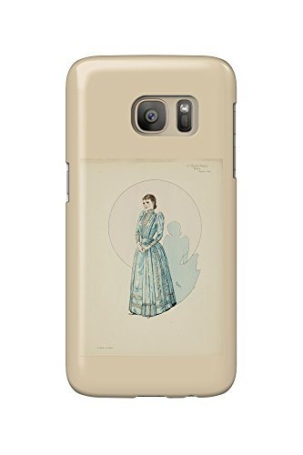 Au Costumes (Le Costume au Theatre Vintage Poster (artist: Steinlen, Theophile Alexandre) France c. 1899 (Galaxy S7 Cell Phone Case, Slim Barely There))