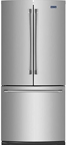 Maytag MFF2055DRM 19.6 Cu. Ft. Stainless Steel French Door Refrigerator