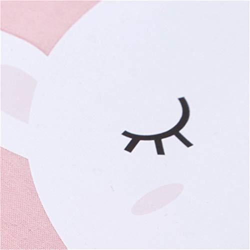 LZIYAN Cartoon Sleep Eye Mask Cute Animal Pattern Eye Mask Blindfold Eye Patch Sleeping Eyeshade Travel Shade Cover,White bear by LZIYAN (Image #3)