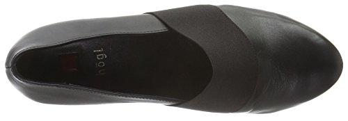 Högl 2- 10 3210 - Zapatos de cuñas para mujer Negro (0100)
