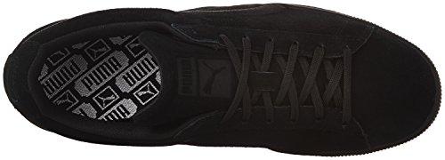 Sneaker classico da uomo in pelle scamosciata, Puma Black, 11 M US