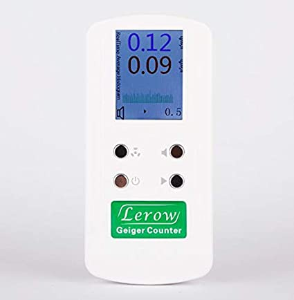 Lerow LR-4011 professional geiger counter Nuclear Radiation Detection Monitor Detects Beta Gamma X-Ray detecting and measuring ionizing radiation