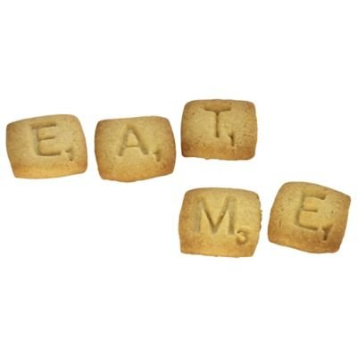 Ideal for Spelling Out Messages 26 Letters Scrabble Cookie Cutters