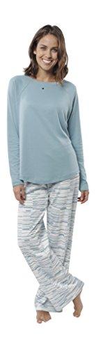 jijamas Incredibly Soft Pima Cotton Women's Pajama Set