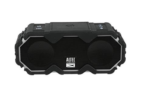 Altec Lansing Mini LifeJacket Jolt Bluetooth Speaker with Qi, Wireless, Waterproof, Portable, Speakers, Loud Volume…