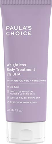 Paula's Choice Weightless Body Treatment 2% BHA,7 oz Tube, G