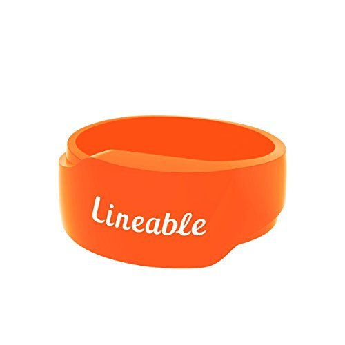 Lineable - Smart Wristband For Kids, Orange, Small