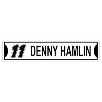 DENNY HAMLIN Street Sign Custom Sticker Decal Wall Window Door Art Vinyl Street Signs - 22