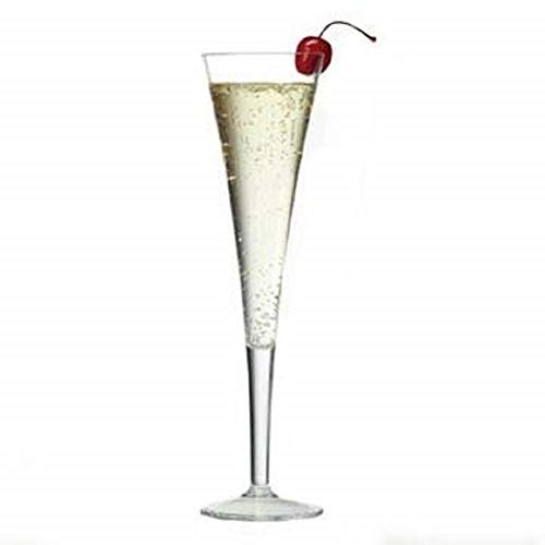 Prodyne Clear Unbreakable Polycarbonate Grand Champagne Flutes, Set of 4
