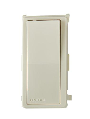 Leviton DDKIT-ST Decora Digital/Decora Smart Switch Color Change Kit, Light Almond