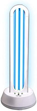 ZXCC Purificador de Aire lámpara de desinfección Ultravioleta esterilizador médico para el hogar jardín de Infantes Escuela móvil,White