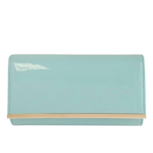JNB Faux Patent Leather Glossy Candy - Leather Faux Patent Green