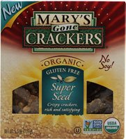 Mary's Gone Crackers Organic Super Seed Crackers Gluten Free - 5.5 oz