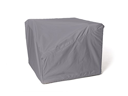 CoverMates - Corner Sectional Chair Cover - 34 Inch Width x 34 Inch Depth x 30 Inch Height - Elite - 300D Poly - Mesh Vent for Airflow - 2 Buckle Straps- 3 Year Warranty - Water Resistant- Charcoal by CoverMates
