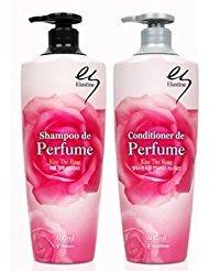 Elastine perfume Kiss the rose shampoo 680ml + conditione...