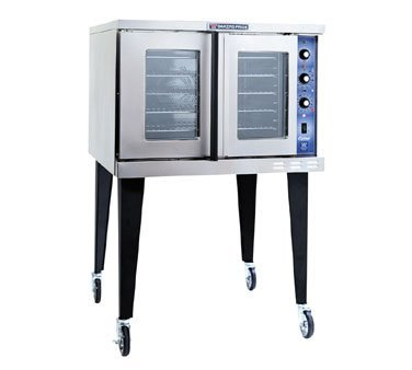 Bakers Pride Cyclone GDCO-E1 Full Size Single Electric Convection Oven, 38 1/8 x 38 x 58 1/4 inch -- 1 each.