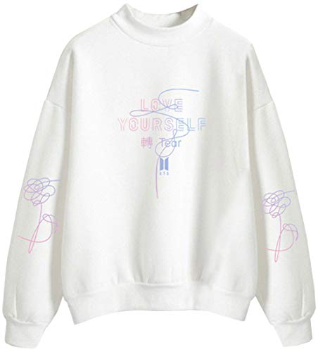 Unisex Yourself Bts Bangtan Boys Letter Top Fans Accollato Felpa Emilyle Kpop Love Donna Stampa AXPqaXwdn