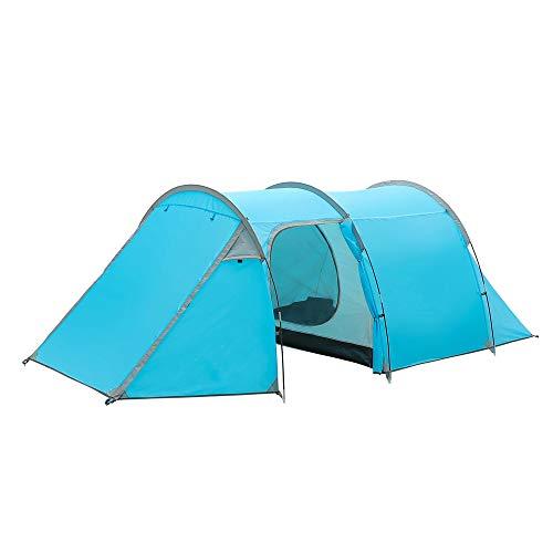 Night Cat Camping Tents 2 3 Persons Waterproof Family Tents Manual Setup Double Layers Rainproof 4 Seasons