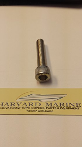 (Yamaha Outboard Trim Tab Zinc, Magnesium, or Aluminum Zinc Anode Stainless Steel Mounting Bolt )