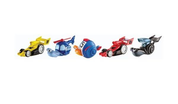 Turbo - Pack de figuras, The Big Race (Mattel Y5790): Amazon.es: Juguetes y juegos