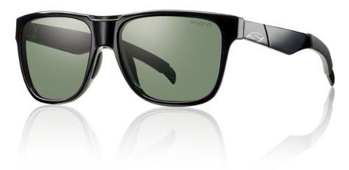 Smith Optics Lowdown Sunglasses - Black Frame with Polarized Gray Green (0d28 Sunglasses)