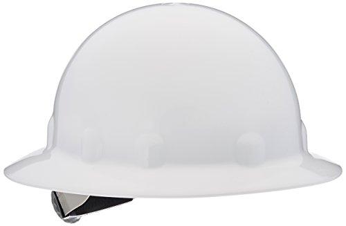 Fibre-Metal 280-E1RW01A000 SuperEight Hard Hats, 8 Point Ratchet, One Size, White ()