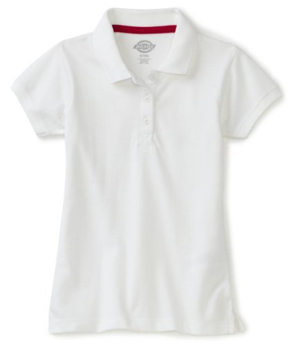 Dickies Girls Short Sleeve Pique