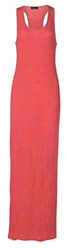 Fast Fashion -  Vestito  - Sera  - Senza maniche  - Donna rosso 44