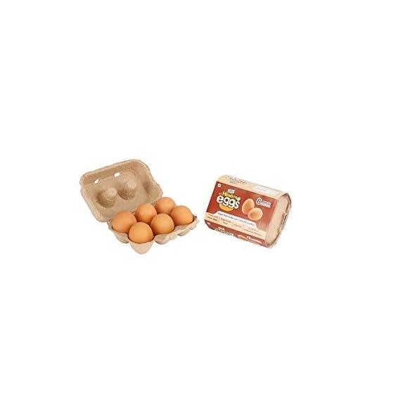 UPF Healthy Brown Eggs (Pack of 6)