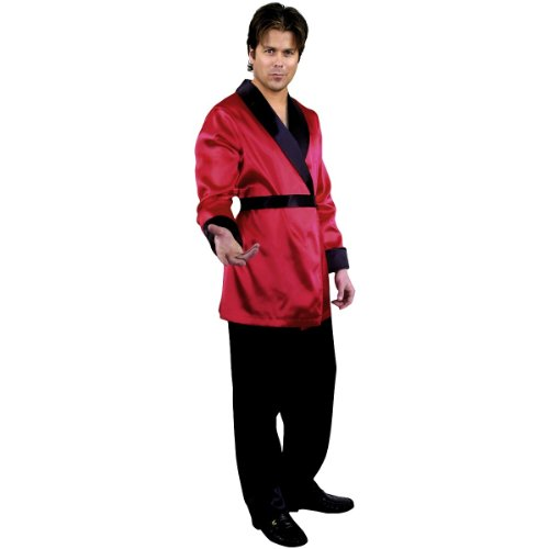 Smoking Jacket Adult Costume - -