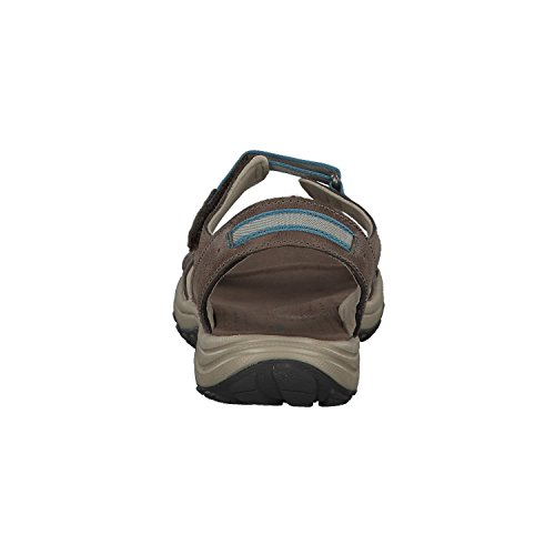 Mud Para Sandalias canyon Blue Mujer Columbia Santiam qPAwpH