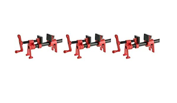 Bessey BPC-H12 1//2-Inch H Style Pipe Clamps