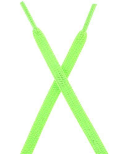Mshega 24-40 Premium Flate Skolissene For Joggesko Sko To Par Neon Grønn
