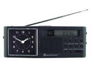 Soundmaster UR 970 - Radio reloj portátil (sintonizador FM/AM, Reloj Digital con despertador): Amazon.es: Electrónica