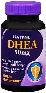 Natrol - DHEA 50 mg. - 60 comprimidos