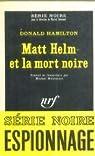 Matt Helm et la mort noire par Hamilton