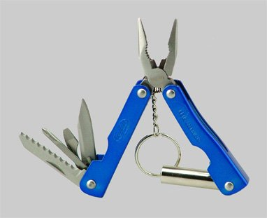 Great Neck 12901 10 in 1 Blue Mini LED Tool, Outdoor Stuffs