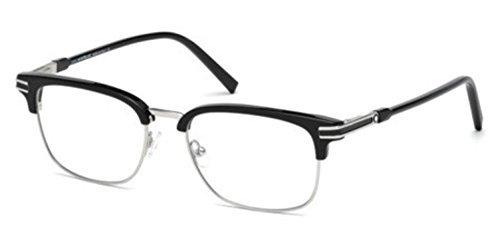Eyeglasses Montblanc MB 669 MB 0669 001 shiny - Mont Eyeglasses Blanc For Men