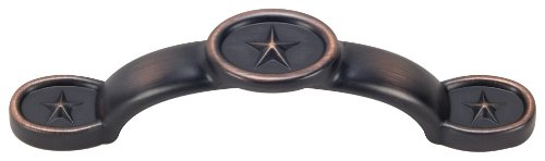 Hardware House 64-4401 Texas Star Cabinet Pull.16-Pounds, Classic Bronze