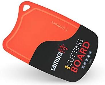 SAMURA Color Rojo Tabla de Cortar termopl/ástica