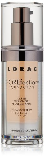 LORAC POREfection Foundation, PR3-Light Beige, 1.12 fl. oz.
