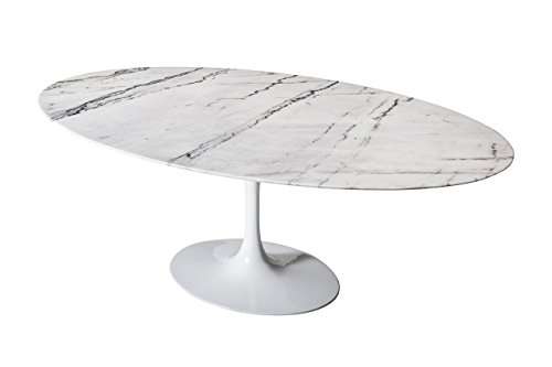 Used, Design Tree Home Saarinen Style Tulip Marble Dining for sale  Delivered anywhere in USA
