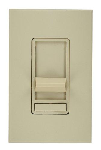 Leviton 86677-7I Architectural Slide Fluorescent Dimmer, 277 Vac, Color Ivory, Decora Frame (Frame Leviton Color)
