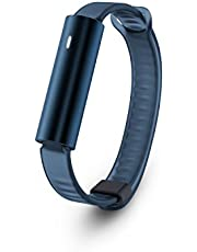 MISFIT Wearable Smart Watch Silicone, Blue, (MIS1001)